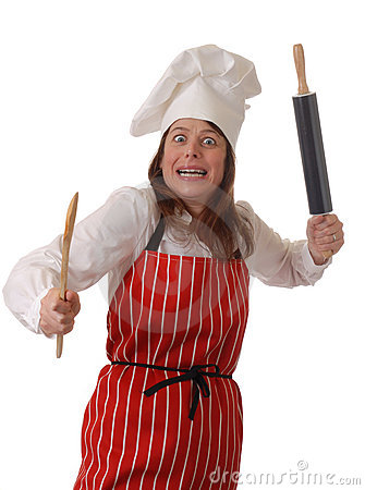 Free Angry Chef Stock Photos - 3998973