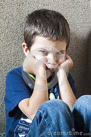 Free Angry Child Stock Photography - 46791692