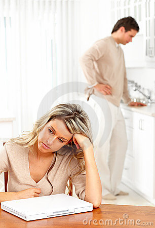 Free Angry Couple Royalty Free Stock Photo - 12970805