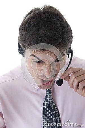 Angry Customer Service Representative