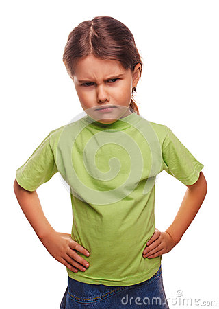 Free Angry Evil Girl Shows Fists Experiencing Anger And Royalty Free Stock Photos - 35528958
