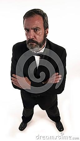 Angry gentleman