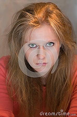 Free Angry Girl Stock Photo - 21745570