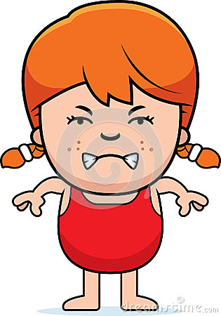 Angry Girl In Swimsuit Stock Vector - Image: 47527065 Angry Girl Cartoon Japanese