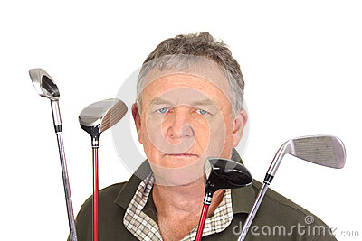 Angry Golfer
