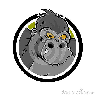 Angry gorilla icon