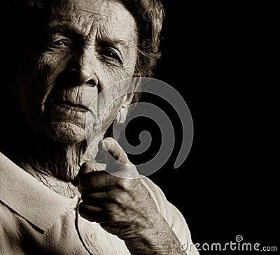 Angry Grandmother