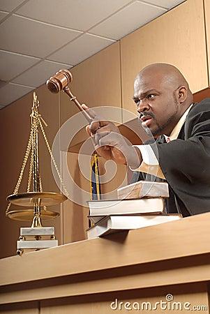 Free Angry Judge Stock Photos - 5001153