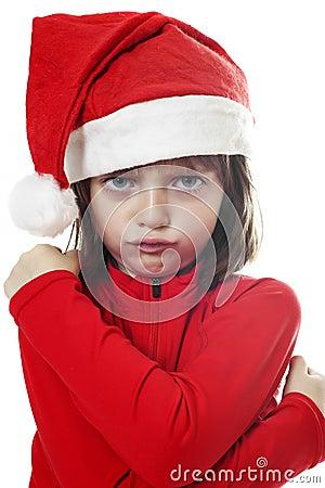 Angry little santa