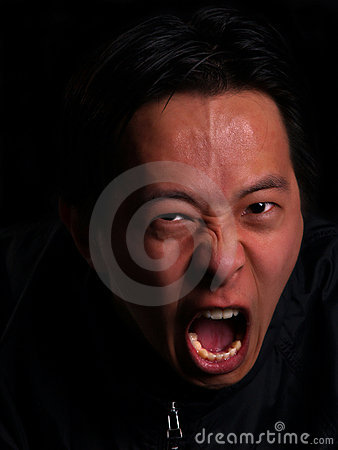 Free Angry Man Screaming Stock Photo - 4430800
