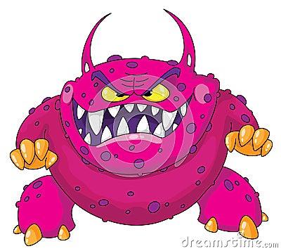 Angry monster