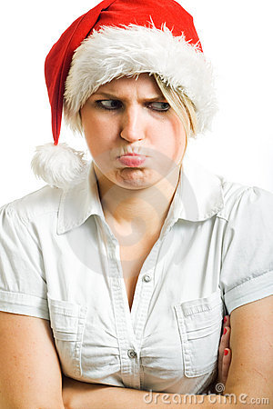Angry Mrs. Claus.