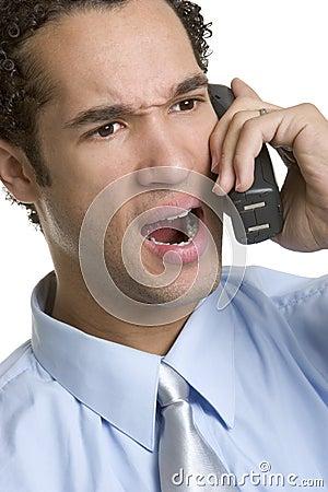 Angry Phone Man