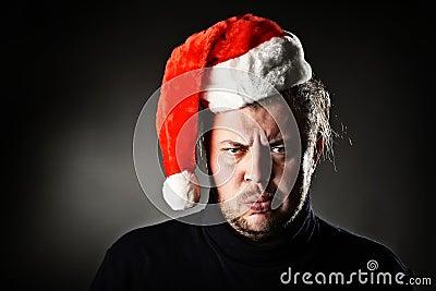 Angry Santa.
