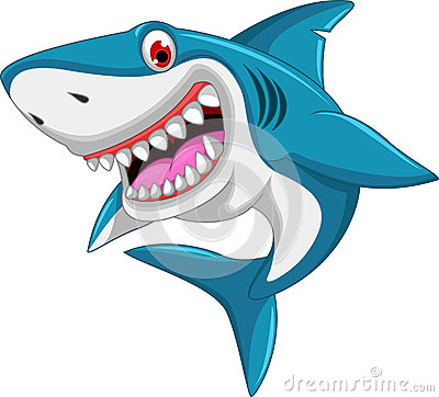Angry shark clipart - photo#12