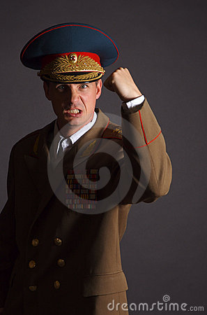 Angry Soldier Stock Photos - Image: 1027463