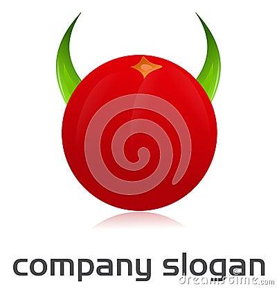 Angry tomato logo