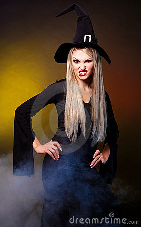 Free Angry Witch Royalty Free Stock Photography - 21578347