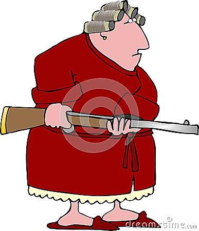 Angry woman 1