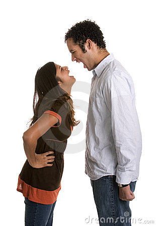 Free Angry Yelling Couple Stock Photos - 1740923