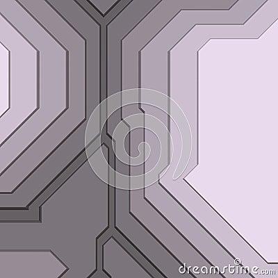 Angular geometric abstract