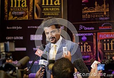 Anil Kapoor Editorial Stock Photo