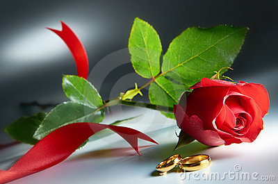 Anillo de bodas con Rose