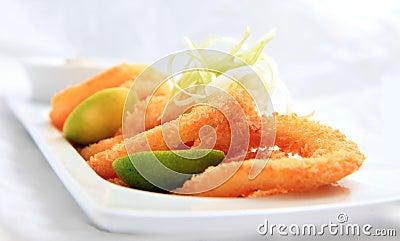 Anillo del calamar curruscante