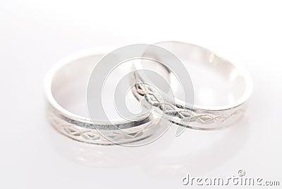 Anillos de la bodas de plata