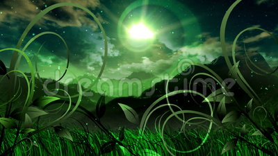 Animación del espacio escénico de los sueños naturales