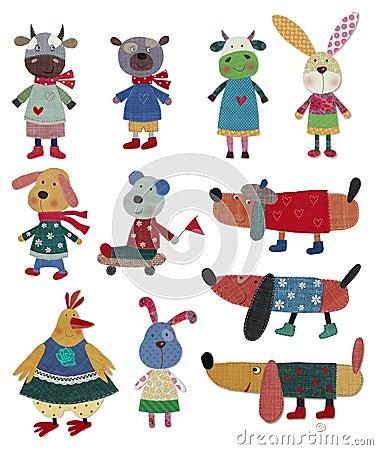 Animais de estimação, personagens de banda desenhada