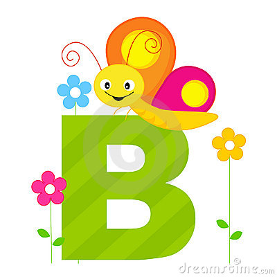 Free Animal Alphabet B Stock Images - 8448634