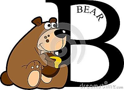 Animal Alphabet Bear