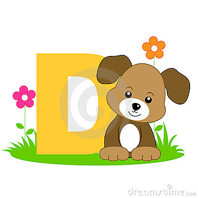 Free Animal Alphabet D Stock Photo - 8448520