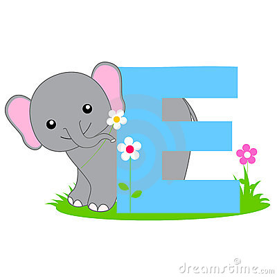 Free Animal Alphabet E Stock Photos - 8448533