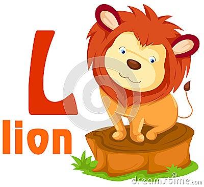 Animal Alphabet L Stoc...W Letter Design