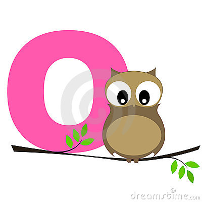 Free Animal Alphabet O Royalty Free Stock Image - 8448306