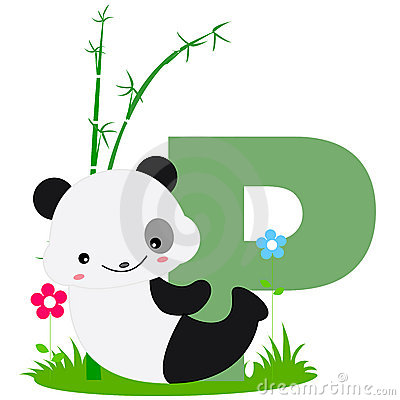 Free Animal Alphabet P Royalty Free Stock Image - 8440146