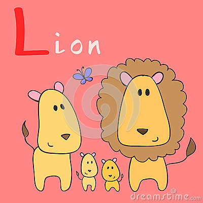 Animal alphabet Vector Illustration