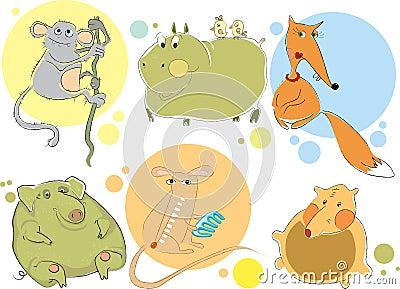 Animal characters