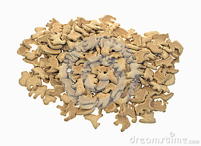 Animal Crackers in Pile