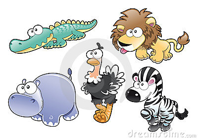 Animal Family Royalty Free Stock Photos - Image: 6900708