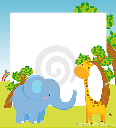 Animal and frame