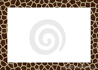 Animal fur abstract foto frame