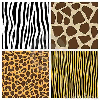 Animal Fur Seamless Patterns