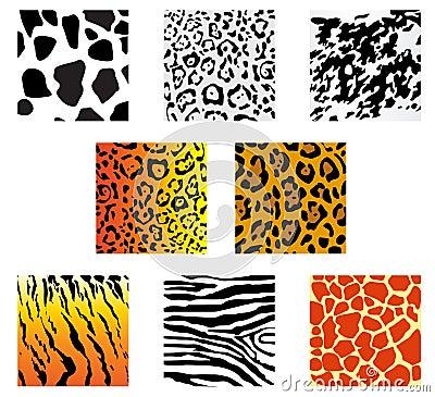 Animal fur and skin