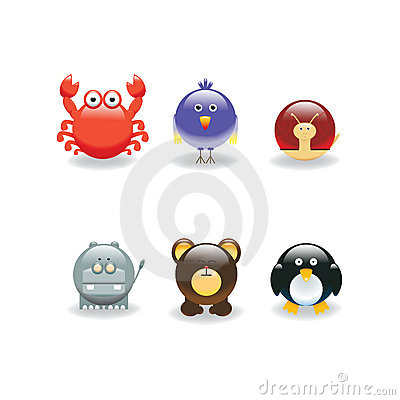 Free Animal Icon 4 Stock Images - 6057914