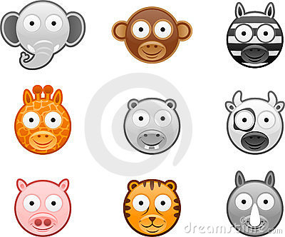 Animal icons set - 1