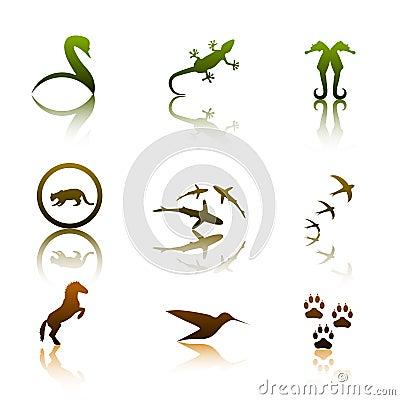 Free Animal Logos Royalty Free Stock Image - 5402256