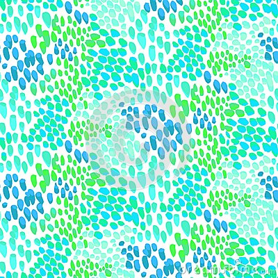 Free Animal Pattern Inspired By Tropical Fish Skin Stock Photography - 43691202